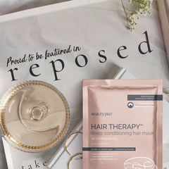 Reposed with BeautyPro Hair Therapy #ReadingInHeels