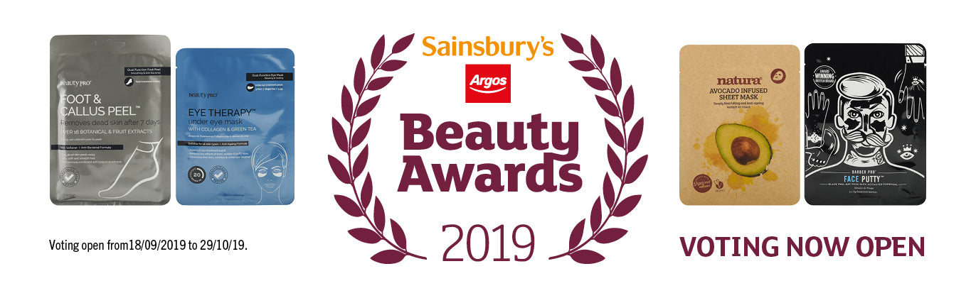 Sainbury's Beauty Awards 2019