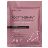FOOT THERAPY Collagen Infused Bootie with Removable Toe Tip