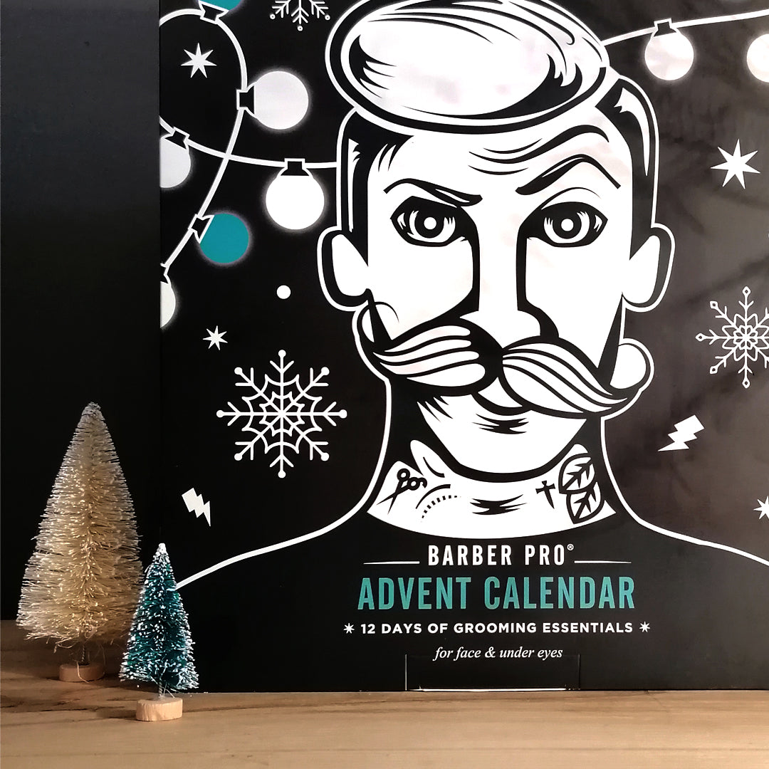 BARBER PRO 12 DAYS OF GROOMING ESSENTIALS Advent Calendar (Worth £59.40)