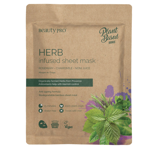 HERB Infused Sheet Mask