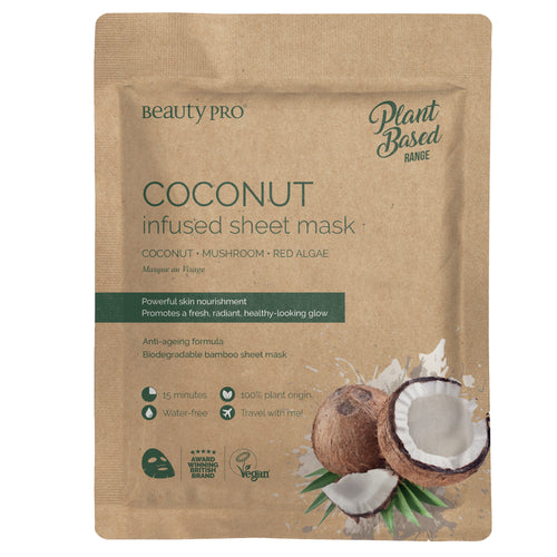 COCONUT OIL Infused Sheet Face Mask