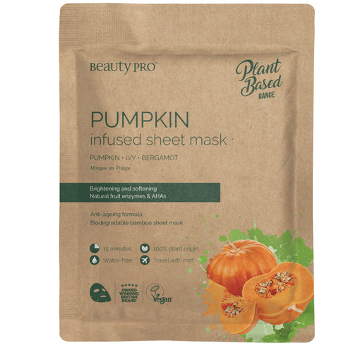 PUMPKIN Infused Sheet Face Mask