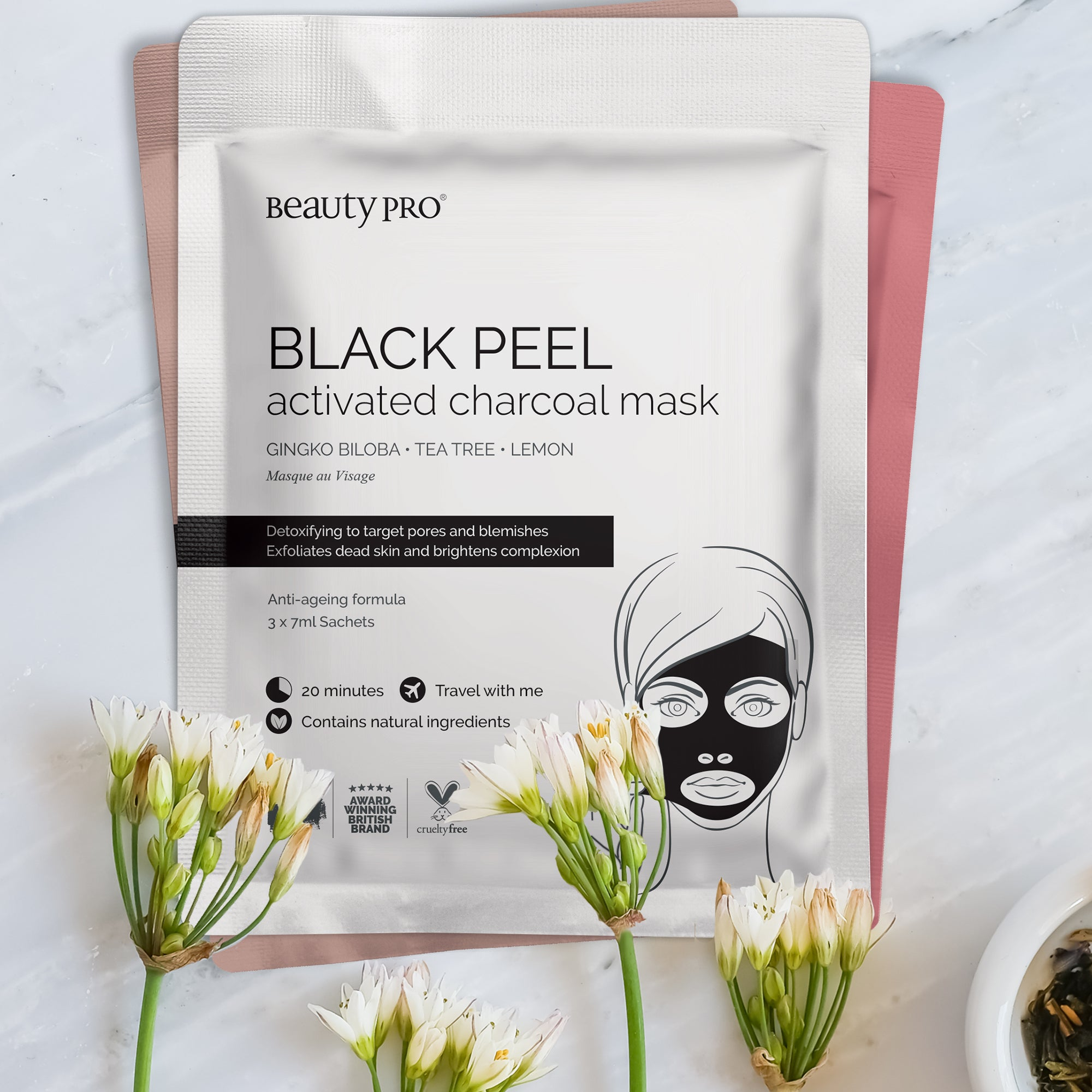 BLACK PEEL Charcoal Mask