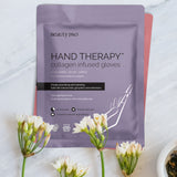 HAND THERAPY Collagen Infused Glove with Removable Finger Tips