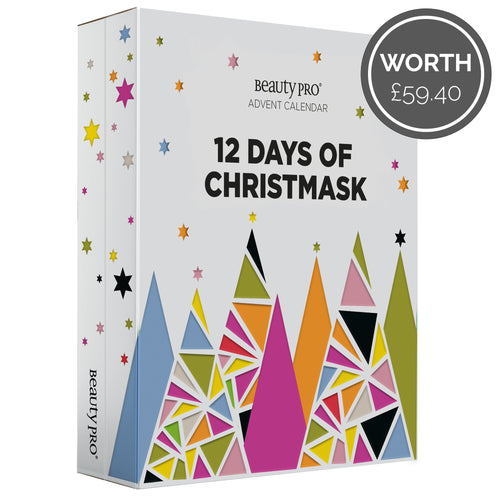 BeautyPro 12 DAYS OF CHRISTMASK Advent Calendar (Worth £59.40)
