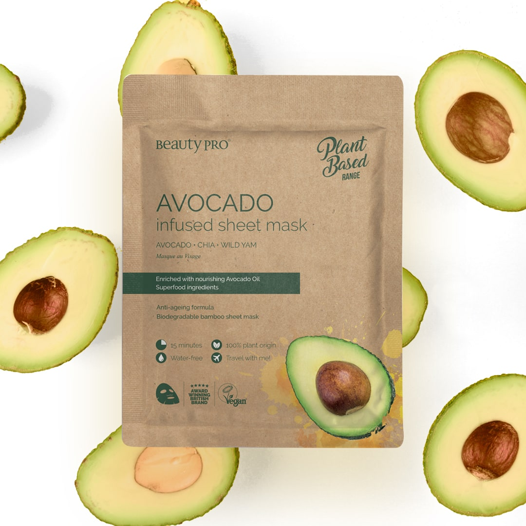 AVOCADO Infused Sheet Face Mask