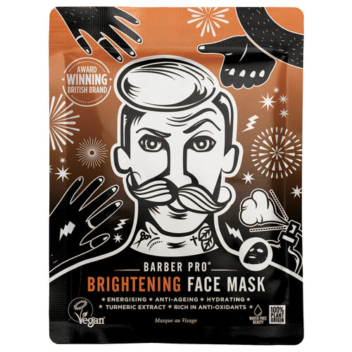BARBER PRO BRIGHTENING FACE MASK