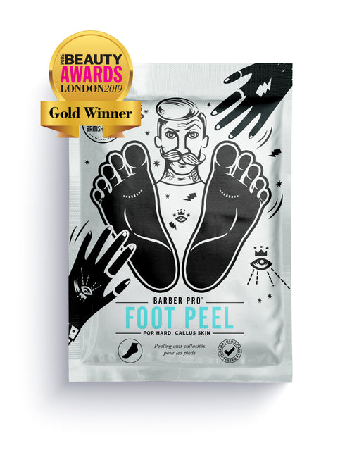 Award-Winning BARBER PRO Foot Peel