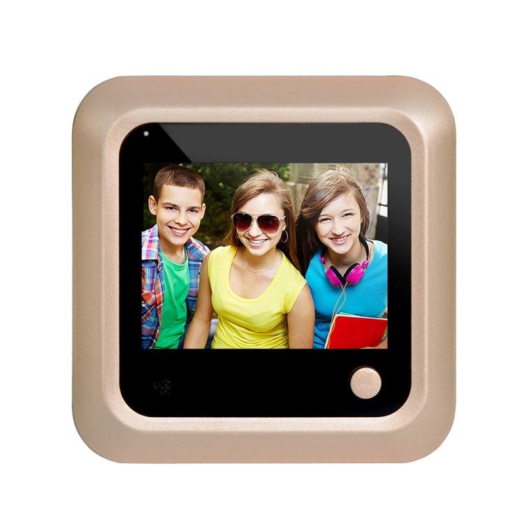 X5 2.4 inch Screen 2.0MP Security Camera No Disturb Peephole Viewer, Support TF Card(Gold) - star-produkte.myshopify.com