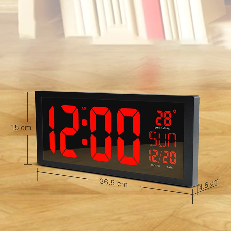 Wall Clock Summer Time Large Screen Clock Living Room Decoration - Star Produkte