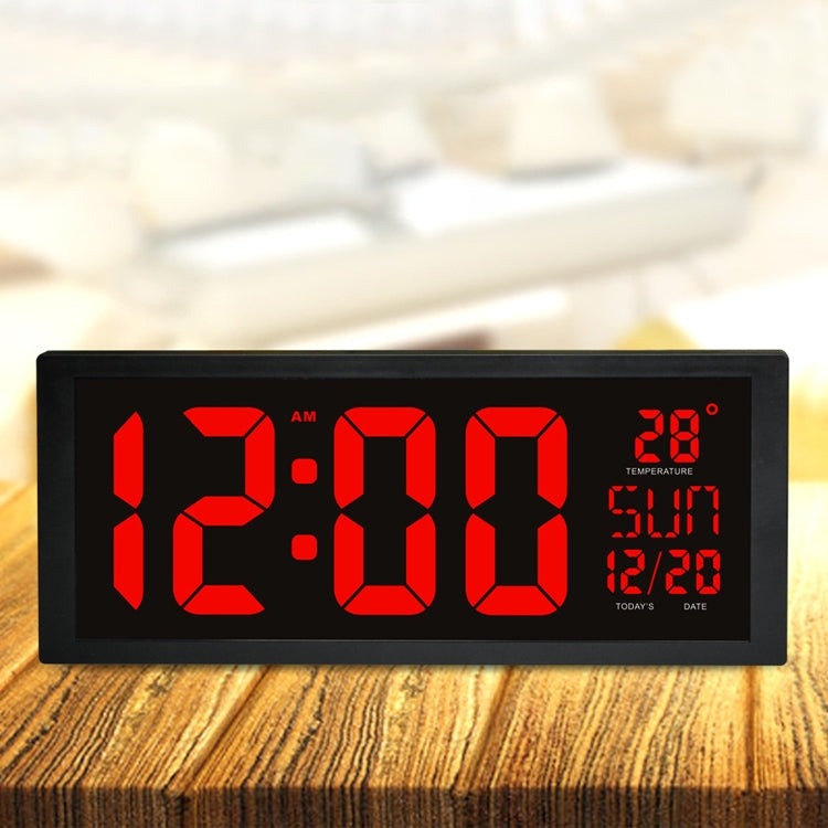 Wall Clock Summer Time Large Screen Clock Living Room Decoration |