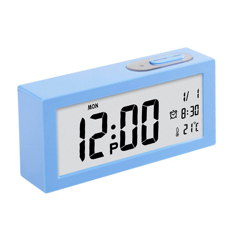 Automatic Night Light Electronic Clock Large Screen Adjustable Backlight Alarm Clock (Blue) - star-produkte.myshopify.com