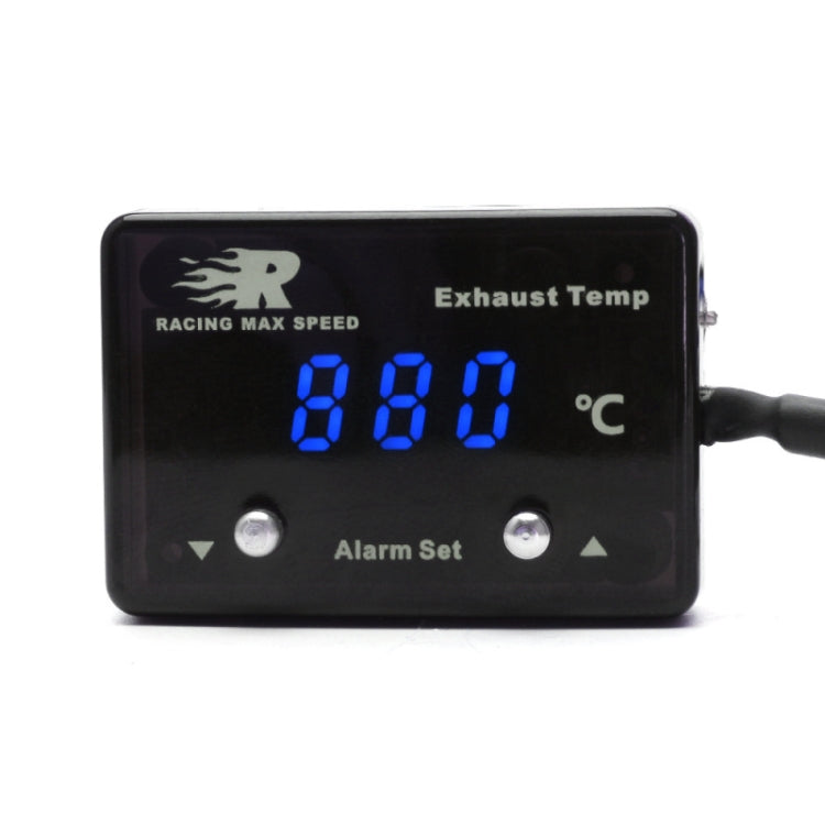 CNSPEED Car Tail Gas Digital Display Thermometer with Sensor P-ETM-01(Blue) - Star Produkte