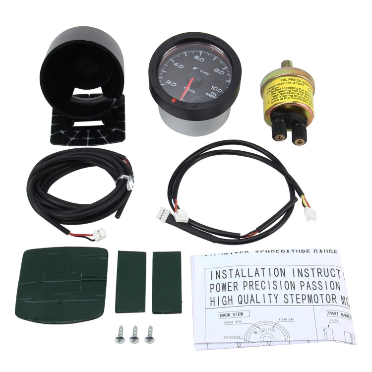 Universal Oil Pressure Gauge Auto Gauge Meter Oil Gauge Pointer for Car Oil Press Meter Auto Gauge - Star Produkte