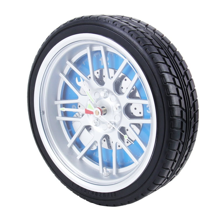 Battery Powered Plastic Wheel Tire Caliper Shaped Desk Alarm Clock, Size: 26*7.2cm - star-produkte.myshopify.com