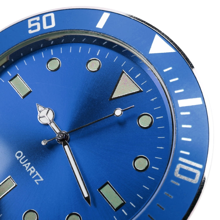 Car Paste Clock Car Luminous Watch(Blue) |