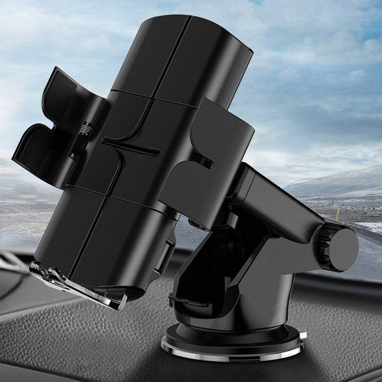 Car Automatic Wireless 10W Fast Charge Car Phone Holder with Voice Broadcast - Star Produkte
