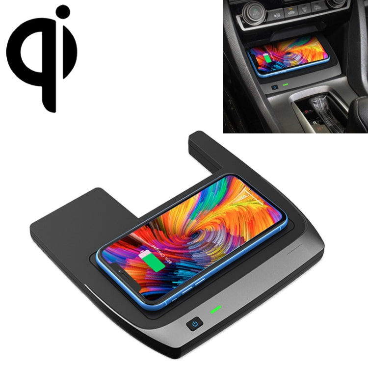 Car Qi Standard Wireless Charger 10W Quick Charging for 2016-2019 Honda Civic, Left Driving |