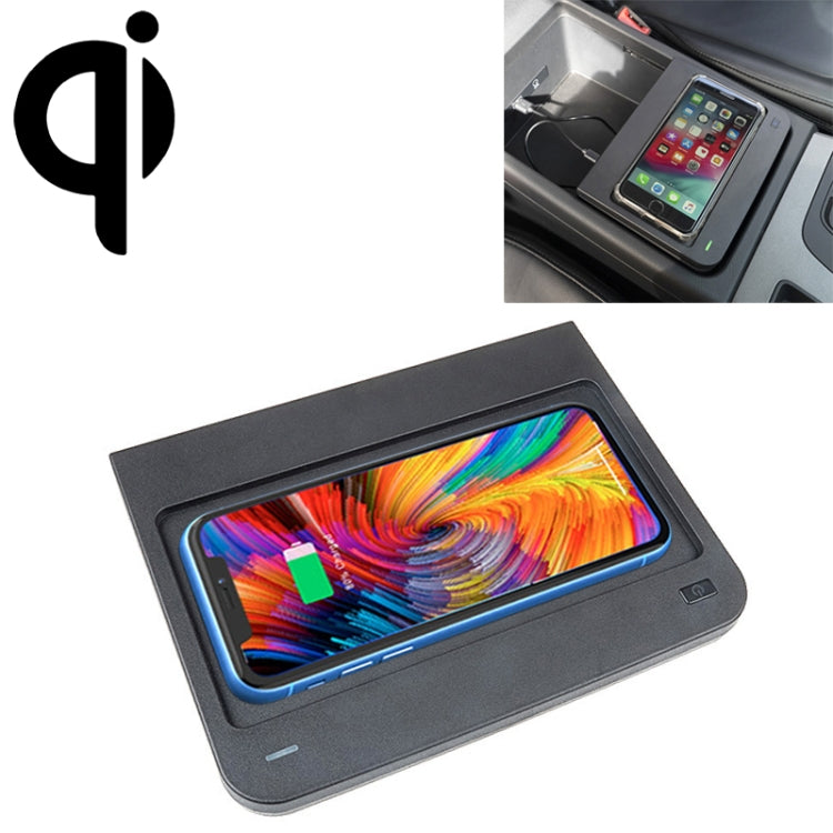 Car Qi Standard Wireless Charger 10W Quick Charging for 2016-2019 Audi Q5 / SQ5, Left Driving |