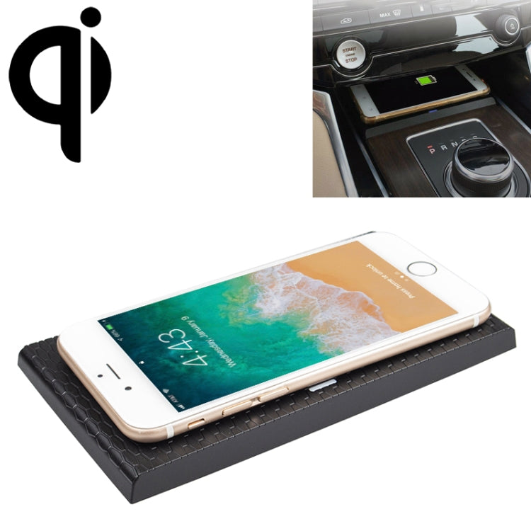 Car Qi Standard Wireless Charger 10W Quick Charging for Jaguar XEL XFL F-PACE 2016-2019, Left Driving |