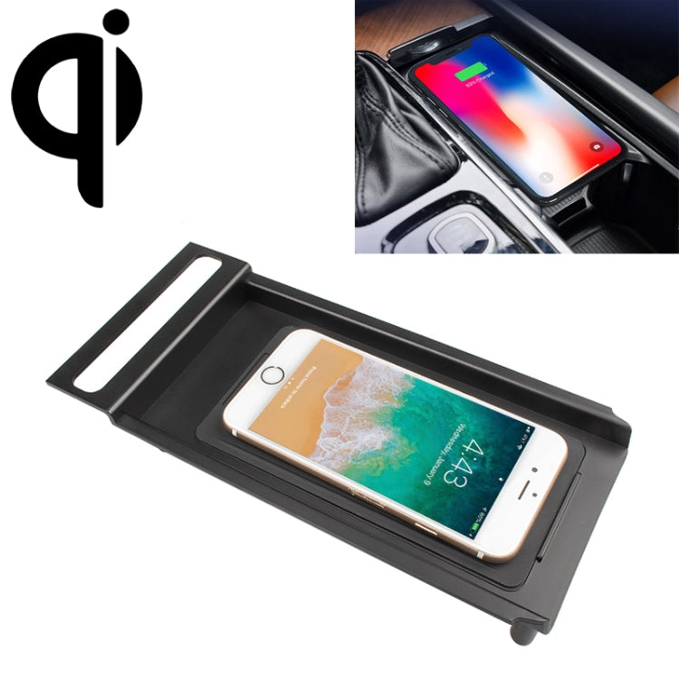 Car Qi Standard Wireless Charger 10W Quick Charging for Volvo S60 2014-2019, Left Driving - Star Produkte