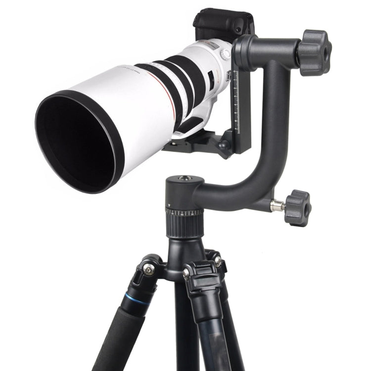 YELANGU Horizontal 360 Degree Gimbal Tripod Head for Home DV and SLR Cameras(Black) - star-produkte.myshopify.com