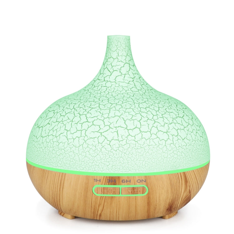 Creative Essential Oil Aromatherapy Machine Crack Ultrasonic Humidifier Mute Atomizer Automatic Alcohol Sprayer, Plug Specification:US Plug(Khaki) |