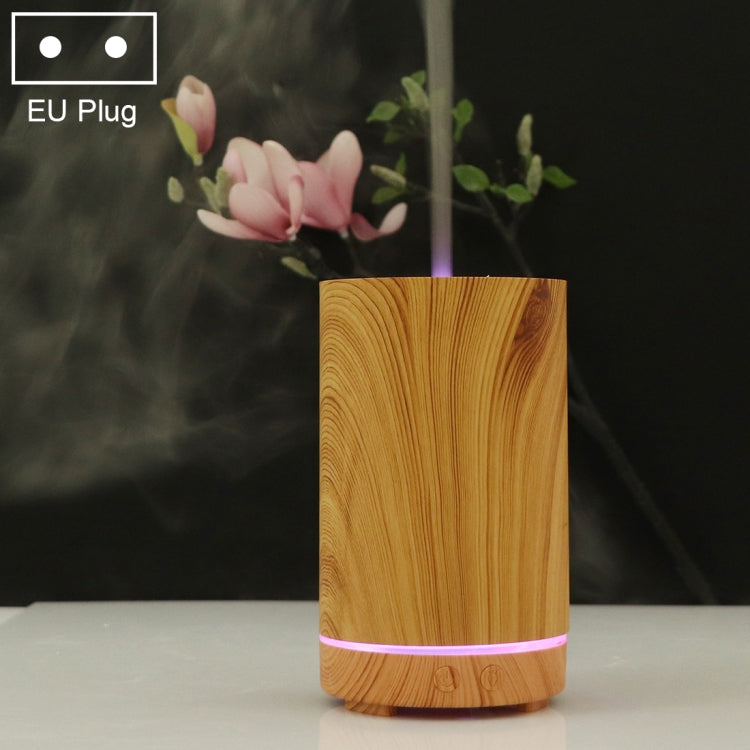 200ml Hollow-out Forest Pattern Wooden Essential Oil Aromatherapy Machine Ultrasonic Humidifier Automatic Alcohol Sprayer, Plug Specification:EU Plug(Light Brown-4) - Star Produkte