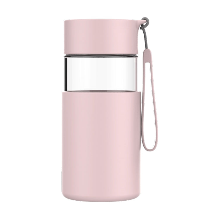 Original Xiaomi Youpin Fun Home Portable Glass Bottle, Capacity: 350ml(Pink) - star-produkte.myshopify.com