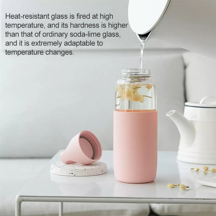 Original Xiaomi Youpin Fun Home Portable Heat-resistant Glass Water Bottle, Capacity: 500ml(White) - star-produkte.myshopify.com