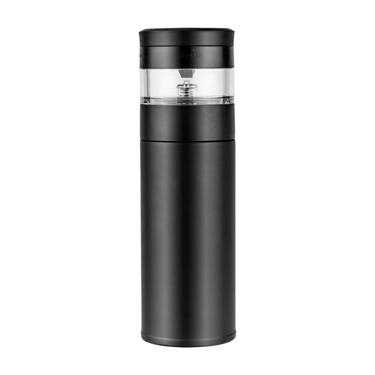 Original Xiaomi Youpin Pinztea Thermal Cup Tea Infuser Bottle, Capacity: 360ml(Black) - star-produkte.myshopify.com