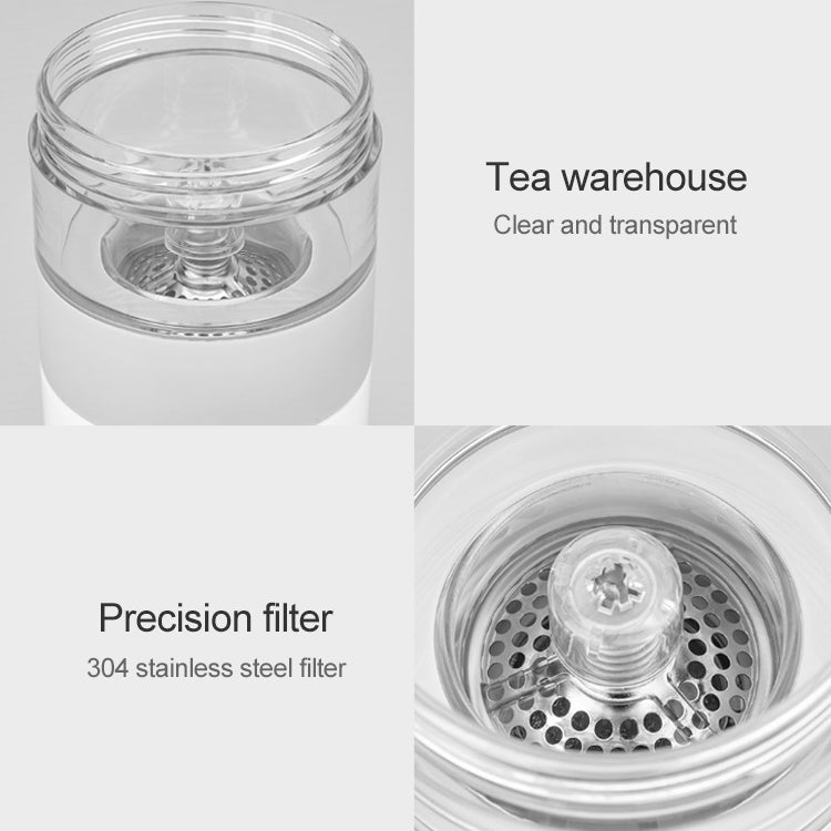 Original Xiaomi Youpin Pinztea Thermal Cup Tea Infuser Bottle, Capacity: 360ml(White) - Star Produkte