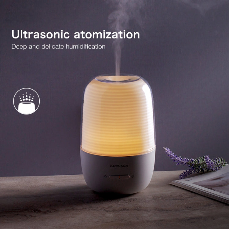 MOMAX HD1W Ultrasonic Aromatherapy Humidifier (White) |