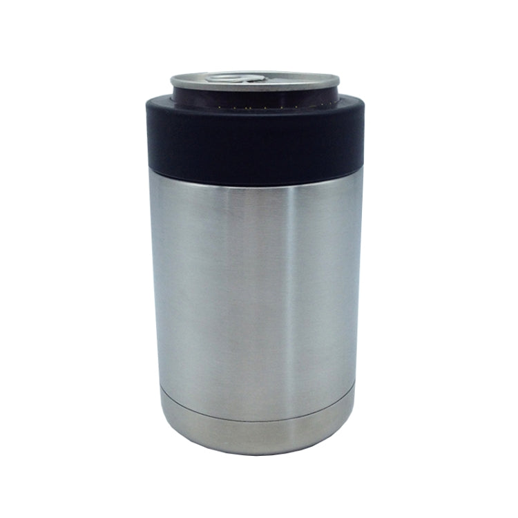 350ml Heat Retention Thermos Stainless Steel Beverage Bottle(Silver) |