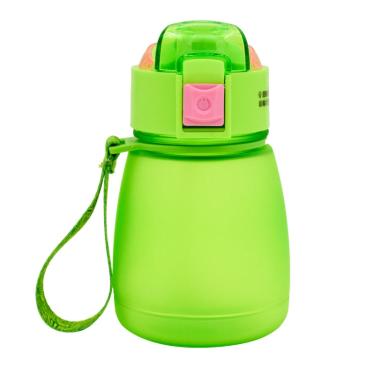 308ml Food Grade Plastic Child Cute Sippy Water Bottle(Green) |
