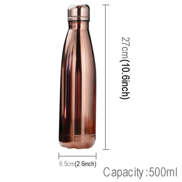 500ml Heat Insulated Stainless Steel Fashionable Outdoor Style Vacuum Thermos |