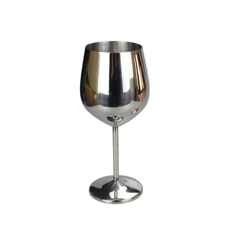 MICLAN 500ml Stainless Steel Red Wine Cup High Capacity Wine Goblet (Silver) - Star Produkte