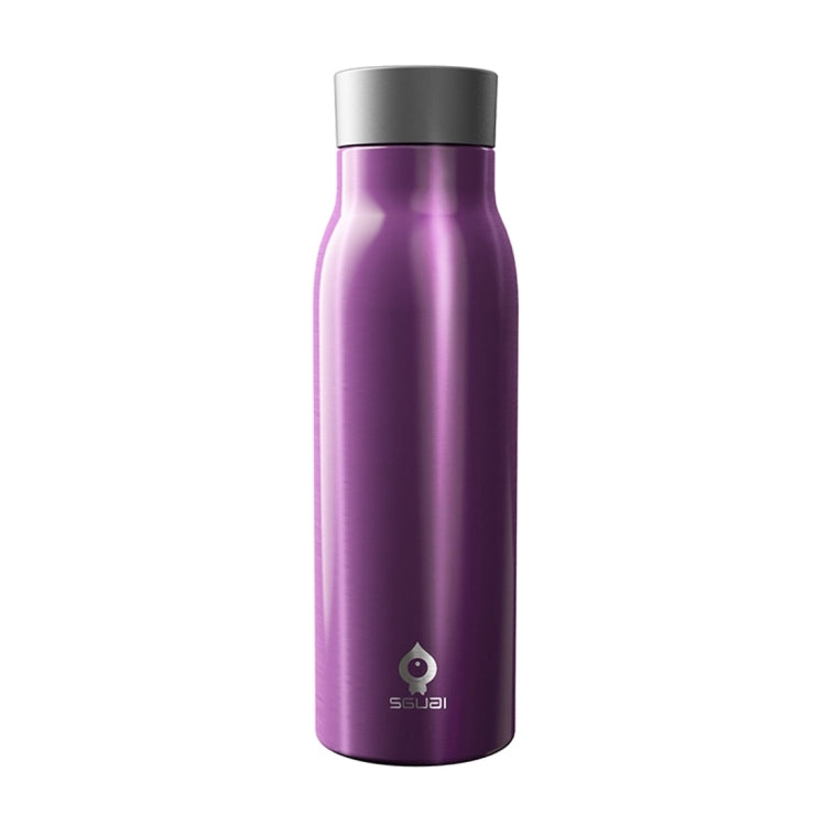 G2 400mL OLED Screen Bluetooth Smart Drinking Water Cup, Support Water Temperature Display & Drinking Water Reminder & Expired Water Reminder & Find the Cup (Purple) - Star Produkte