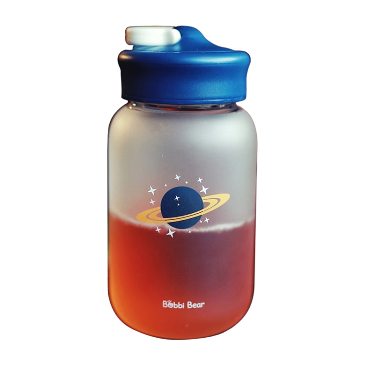 Star Pattern Creative Frosted Glass Bottle,Capacity: 450ml - Star Produkte