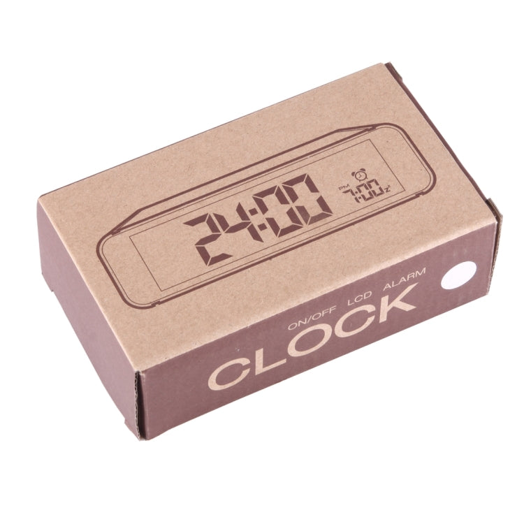 Desk Table LCD Digital Display Alarm Clock with Time Display & Snooze Mode - Star Produkte