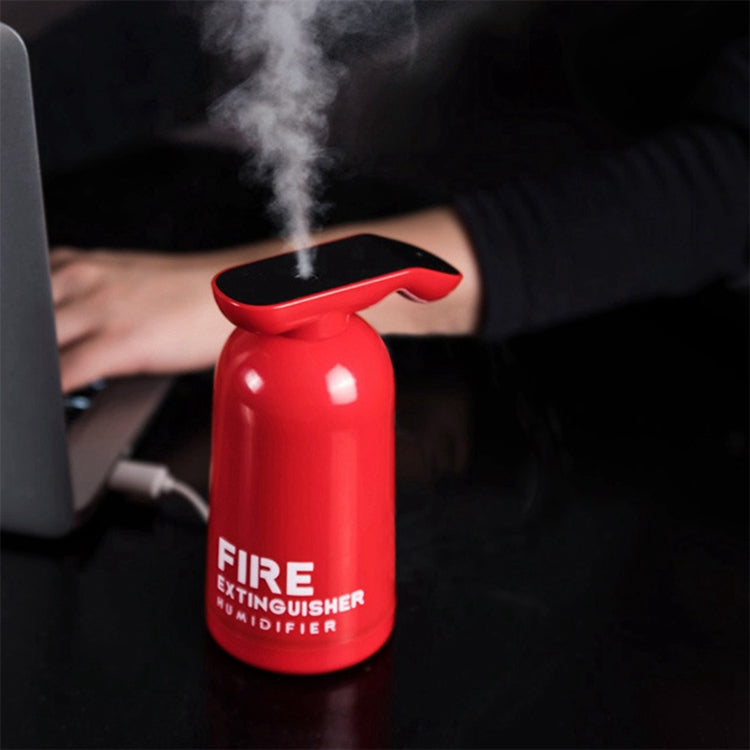 Fire Extinguisher Shape Car Office USB Atomization Hydration Humidifier (Red) |