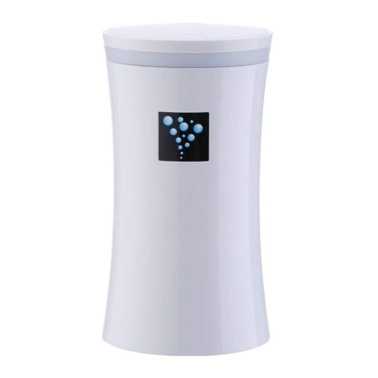 Small-OS 2W Slim Waist Humidifier Moisture Meter Moisturizing Instrument with LED Night Light, Water Tank Capacity: 230ml(White) - Star Produkte