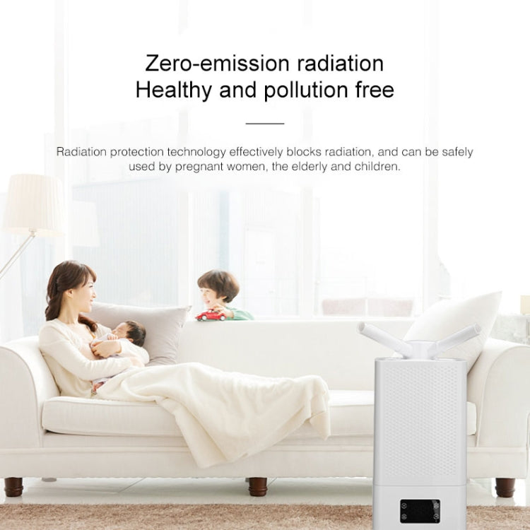 Console Mode Household Air Humidifier Large Capacity Commercial Intelligent Vegetable Preservation Machine Automatic Alcohol Sprayer, Standard Mechanical Version(White) |