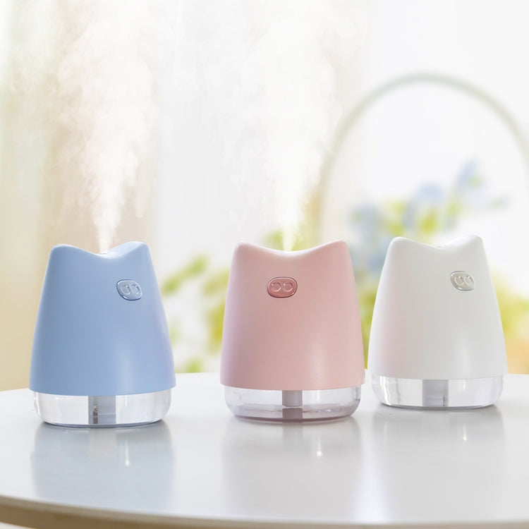 WT-H13 Muzzy Pig Atomizing Humidifier with Colorful Night Lights, Water Tank Capacity: 270mL (White) |