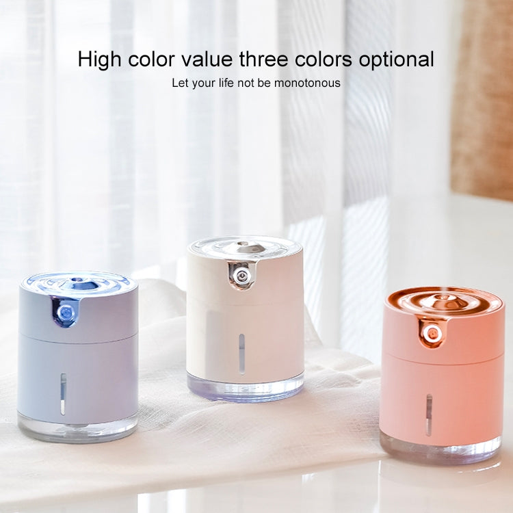 WT-H16 USB Charging Water Pattern Atomizing Humidifier with Colorful Night Lights, Water Tank Capacity: 300mL (White) |
