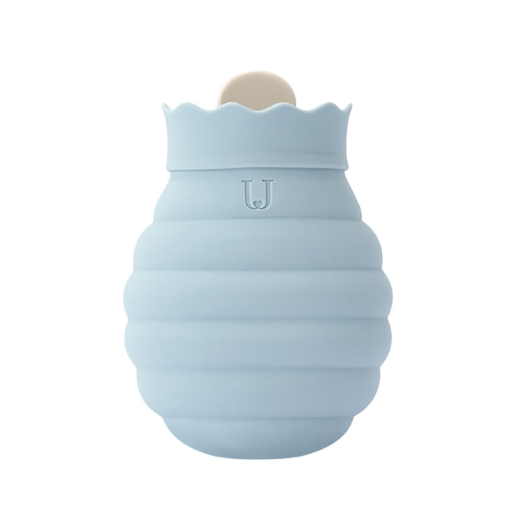 Original Xiaomi Youpin Jotun Judy Warm Water Bag  Silicone Hot Water Bag Small Size:15x10x5.8cm(Gray Blue) - Star Produkte