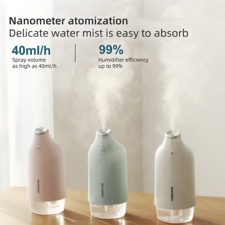 TSHM0 2.5W Spray Humidifier with Ambient Light (Pink) |