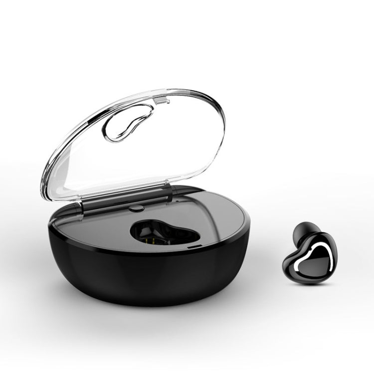 X7 Bluetooth 4.1 Mini Invisible Wireless Sports Bluetooth Earphone with Charging Box (Black) - star-produkte.myshopify.com