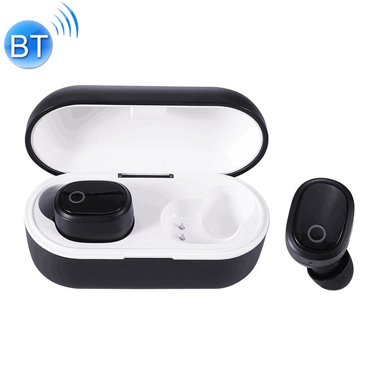 DT-6 IPX Waterproof Bluetooth 5.0 Wireless Bluetooth Earphone with 400mAh Magnetic Charging Box, Support Call(Black) - star-produkte.myshopify.com